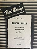 img - for Silver Bells (Fred Waring Choral Arrangement for Mixed Chorus SATB) book / textbook / text book