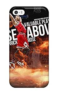 5/5s Scratch-proof Protection Case Cover For Iphone/ Hot Derrick Rose Dunk Phone Case