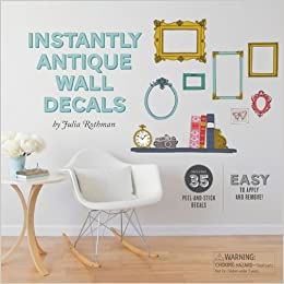 Instantly Antique Wall Decals Julia Rothman - Vintage wall decals
