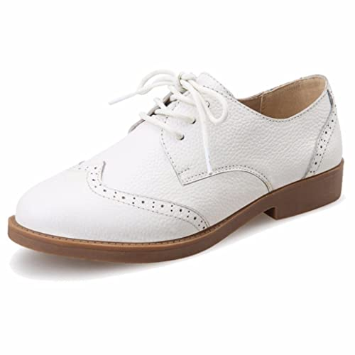 Moonwalker Zapatillas para Hombre en Cuero (EUR 45 ,Blanco)