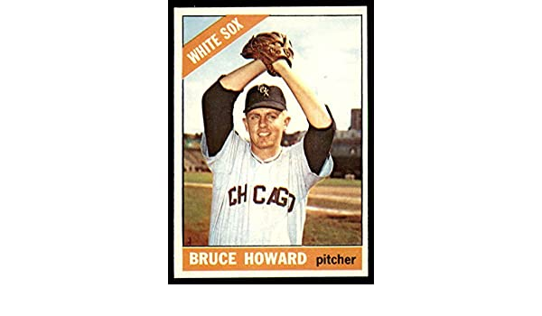 Amazon.com: Baseball MLB 1966 Topps #281 Bruce Howard EX/NM White Sox: Collectibles & Fine Art