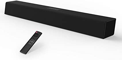 Sound Bar TV Audio Speaker W 80 Watt 38-Inch Wireless Bluetooth Wired Subwoofer