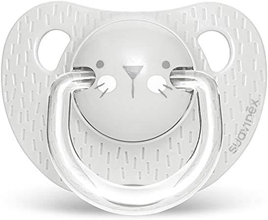Suavinex Chupete con tetina anat/ómica de silicona Chupete para beb/és +18 meses 0/% BPA Color rosa.