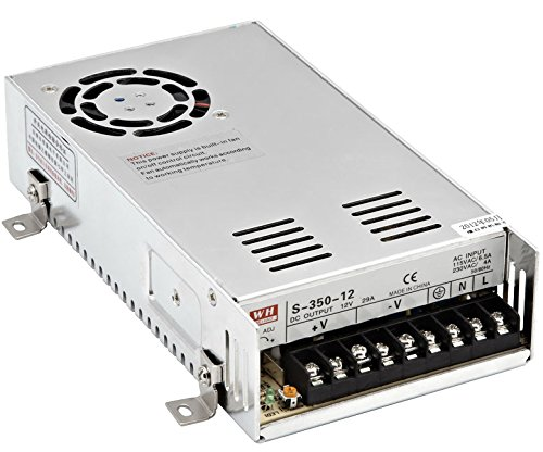 350W 36V Switch DC Power supply S-350-36 9.7A CNC Router Single Output Foaming Mill Cut Laser Engraver (350 Laser)