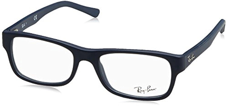 RB Unisex RX5268 Eyeglasses Sand Blue 52mm /& Cleaning Kit Bundle