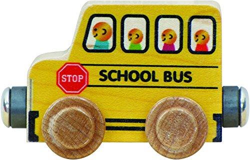 NameTrain School Bus - Made in (Name Train 3 Letters)