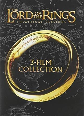 The Lord of the Rings Collection Theatrical Versions (3- Films DVD set)