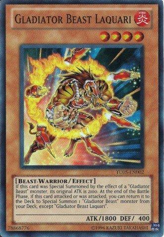 Yu-Gi-Oh! - Gladiator Beast Laquari (TU05-EN002) -