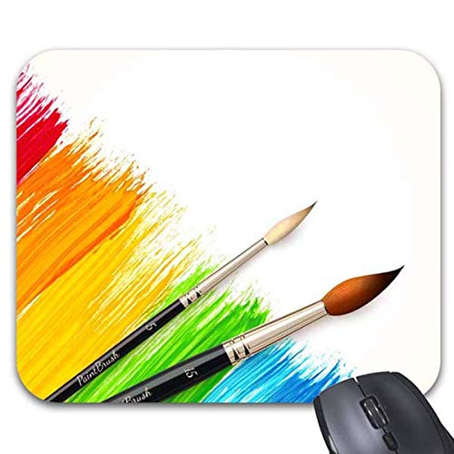 Mousepad Color Paint Brush Mouse Mat by Smity 106