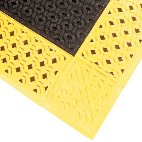 NoTrax PVC Vinyl 522 Cushion-Lok Anti-Fatigue Drainage Mat, for Wet Areas, 30