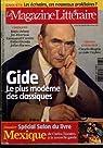 Le Magazine Littéraire n°484   Gide, le plus moderne des classiques par Le magazine littéraire