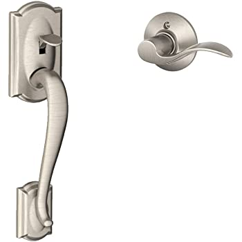 Schlage Lock Company Camelot Front Entry Handle Accent
