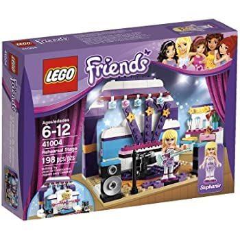 lego friends rehearsal stage 41004 toys games. Black Bedroom Furniture Sets. Home Design Ideas