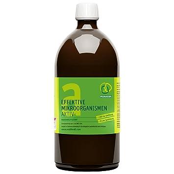Abono con protección activa eficaz contra microbios (EM-Aktiv), complemento para el suelo: Amazon.es: Jardín