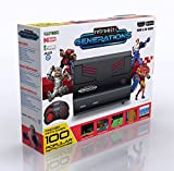Retro-Bit Generations - Plug and Play Game Console Red/Black Over 90+ Retro Games