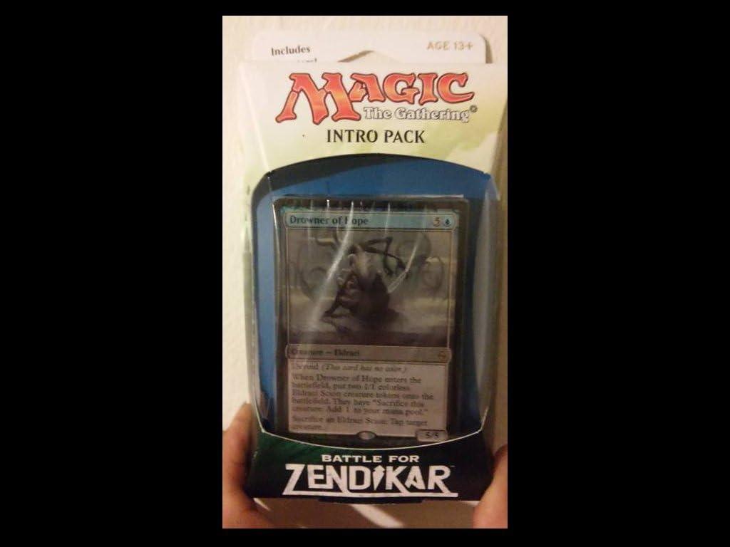 Amazon Com Magic The Gathering Mtg Battle For Zendikar Intro