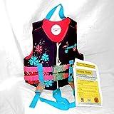 Speedo Neoprene Personal Flotation Device Swim Vest - Weight 30-50 lbs. (Purple/Pink)
