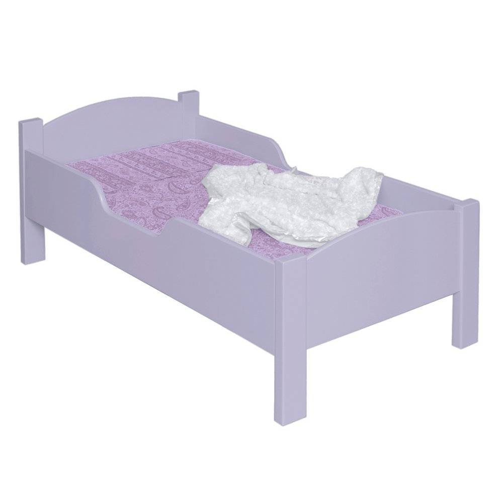 Little Colorado Personalized Traditional Toddler Bed, Soft Pink 088SPNC