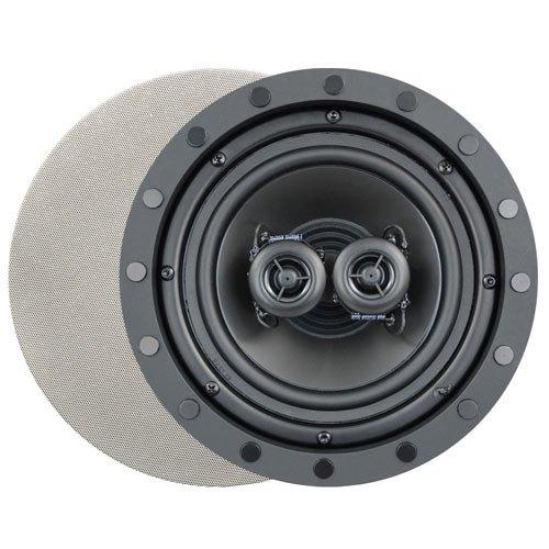 Channel Vision 8 In. Soprano ARIA Single Point Stereo In-Ceiling Frameless Speaker (Single) ()