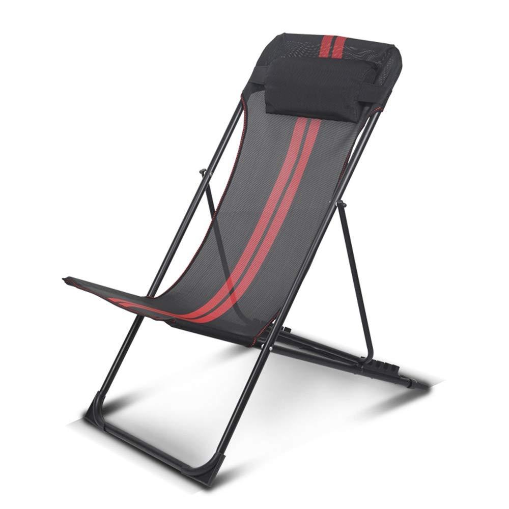 Axdwfd Sedie a Sdraio Sedia Pieghevole Classica reclinabile Sedia da Giardino Spiaggia 85  55  100cm