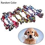 Dog Toys - AUOkER Dog Chew Toys - Puppy Teething Toys- Puppy Chew Toys - Rope Dog Toy - Puppy Toys - Small Dog Toys - Chew Toys - Dog Toy Pack - Tug Toy - Dog Toy Set - Washable Cotton Rope for Dogs