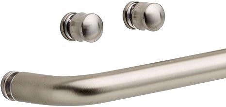 Delta Simplicity - 50,8 cm Tirador con pomos para puerta corredera de ducha o bañera en níquel: Amazon.es: Hogar