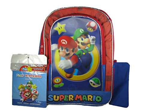 Super Deluxe Backpack Activity Pencil