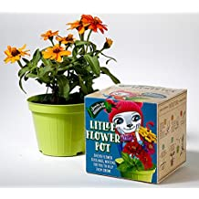 Children Flower Pot, Comes with Organic Flower Seeds