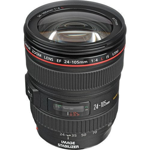 Canon EF 24-105mm f/4L IS USM Zoom Lens - White Box (New)...