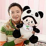 Best Doll Monchichi - LUCKSTAR(TM) 30CM Plush Doll Monchichi Doll In Panda Review