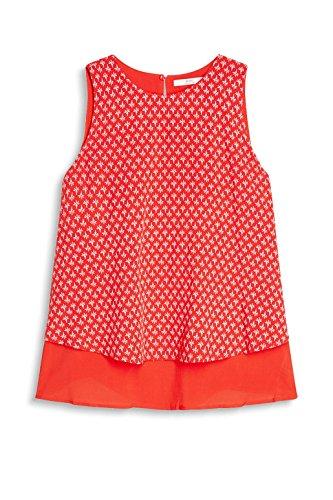 edc by Esprit 057cc1f008, Blusa para Mujer Rojo (Red)