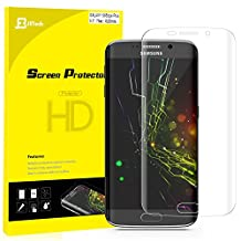 Galaxy S6 Edge Plus Screen Protector, JETech® Edge to Edge Full Screen Curved Edge HD Crystal Screen Protector film for Samsung Galaxy S6 Edge Plus +