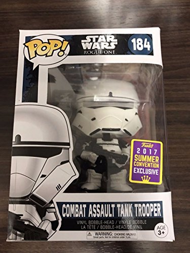 Funko Pop! Star Wars - Combat Assault Tank Trooper - SDCC 2017 Summer - Collectors Combat