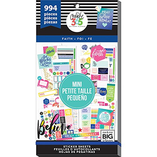 Christian Faith Stickers - The Happy Planner - Value Pack Stickers - Faith
