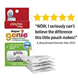 Playtex Diaper Genie Carbon Filter, Ideal for use with Diaper Genie Complete, Odor Eliminator, 4 Pack