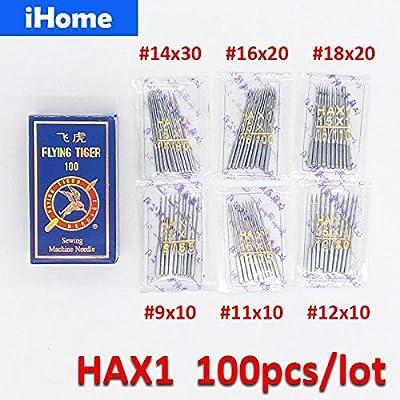 HAX1 - Agujas de costura para máquina de coser Singer Brother ...