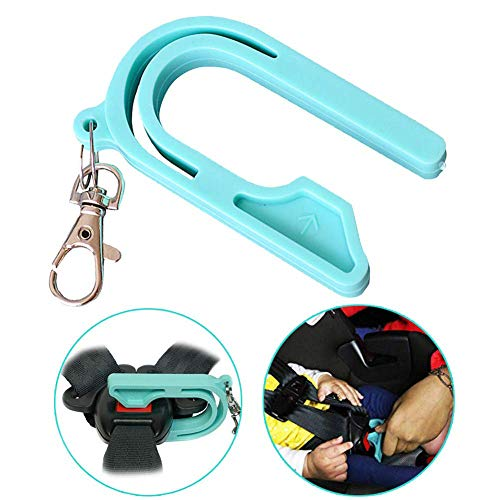 The Car Seat Key – Easy Car Seat Unbuckle,Baby Carseat Unbuckler Helps Kids and Adults to Unbuckle, 2019 New Easy Buckle Tool (1 Pcs)