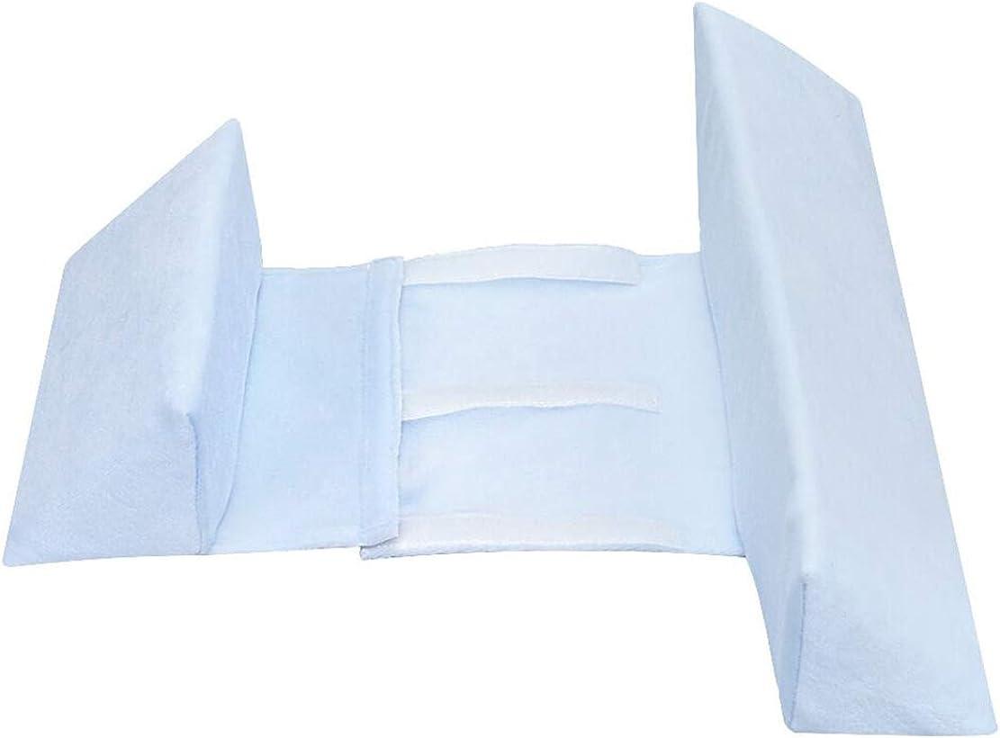 mama stadt Almohada Lateral para Beb/é//Almohada para Dormir del Beb/é Forma de Cabeza Natural para Beb/és Almohada Lavable