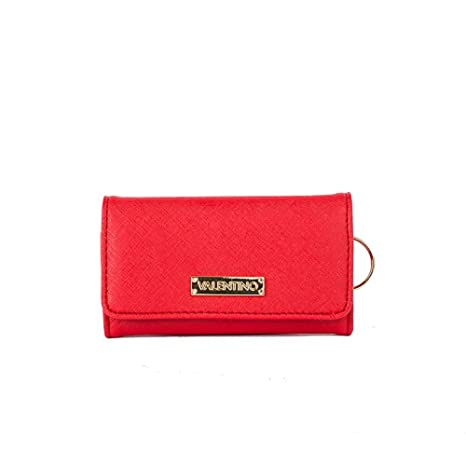 Valentino - Monedero rojo Red L 13,5cm x H 7,5cm: Amazon.es ...