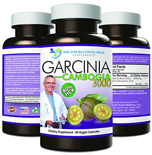 Garcinia-Cambogia-Capsules-Pure-Extract-Natural-Dietary-Supplement-for-Weight-Loss-1000mgserving-90-Ct-Veggie-Diet-Pills-CERTIFIED-AS-80-HCA-OTHERS-ARENT-Appetite-Suppressant-MADE-IN-THE-USA