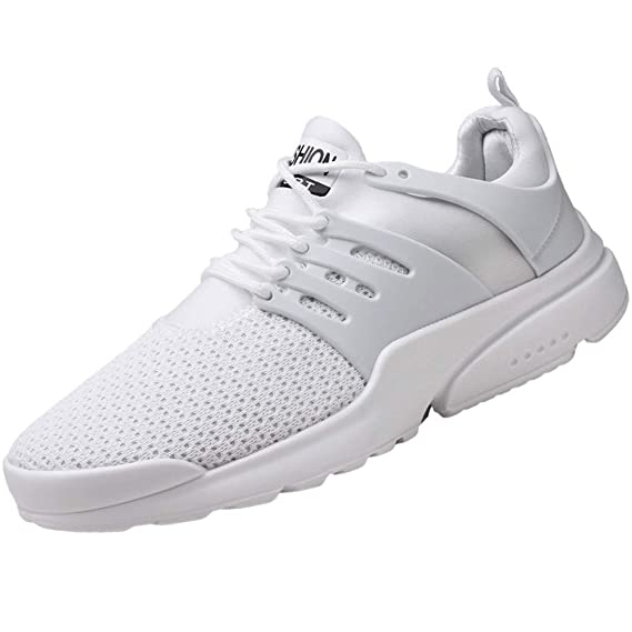 Bestow Zapatillas de Deporte de Vuelo Ocasionales de los Hombres, Malla Transpirable, Zapatillas Deportivas, Zapatos de Hombre.