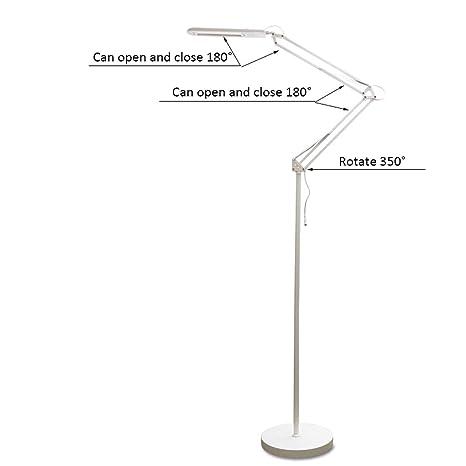 Lámparas de Pie Lámpara Vertical Piso Lámpara Americana Simple ...