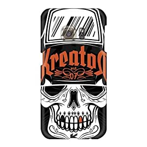 Samsung Galaxy S6 SWK18054TrBb Support Personal Customs High-definition Metallica Band Skin Bumper Hard Cell-phone Cases -JohnPrimeauMaurice
