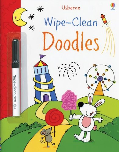 Wipe-Clean Doodles (Wipe-Clean Books)