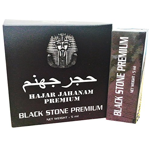 Hajar Jahanam Premium Black Stone Sex Oil For Strong   Long Ejaculation Delay Help From Poor Erection