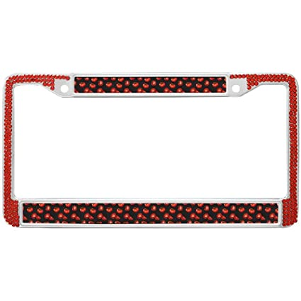 Amazon.com: GND License Plate Frame Tomato Pattern Personalized ...
