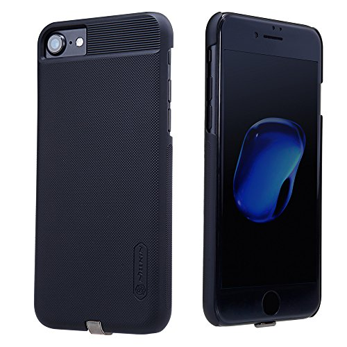 iPhone 7 Case, Mangix [Magic Case Series] QI Wireless Charging Receiver Case Back Cover [Compatible with Magnetic Holder] for iPhone 7-Black