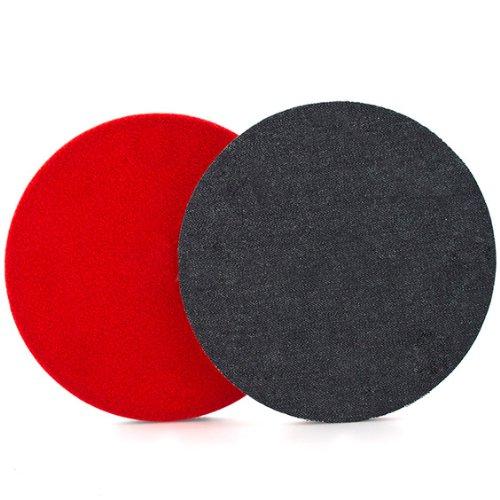 Flexipads 6' Velvet Light - Medium *Orange Peel* Rotary Machine Polishing Pad
