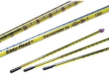125-145/% Proof//0.2/% H-B Instrument B61807-4700 Ethyl Alcohol Glass Hydrometer