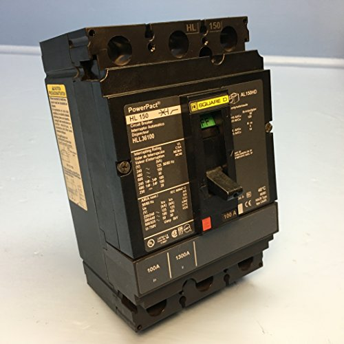 HLL36100 SQUARE D 100K POWER PACT LUG CIRCUIT BREAKER :Y by Square D